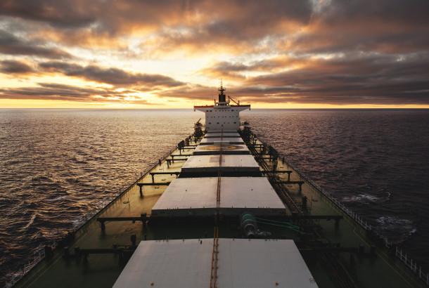 ship in navigation